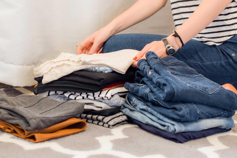 Inpakken kleren