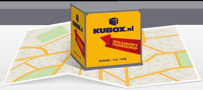 KUBOX kan bijna overal in Nederland bezorgd worden!